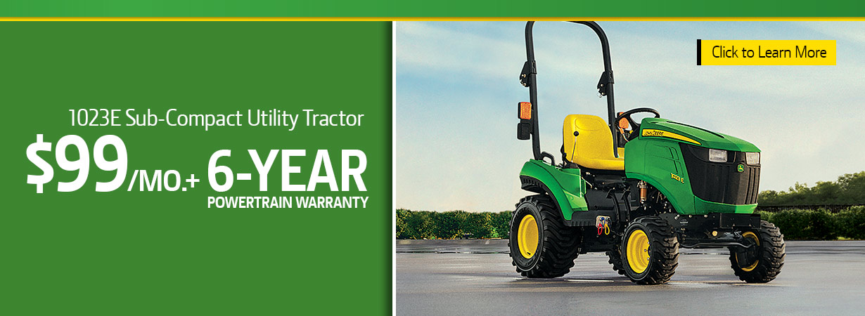 1 Family 1023E Sub-Compact Tractor Special