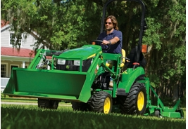 Compact Tractor from John Deere like this small tractor