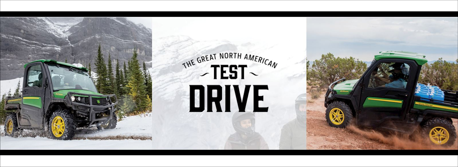 The Great North American Test Drive