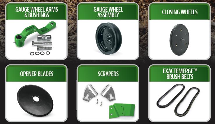 Pick 3 - Planter Parts