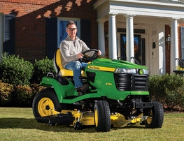 Riding mowers and lawn tractors from John Deere